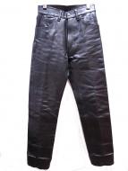 AERO LEATHER(エアロレザー)の古着「ホースハイドレザーパンツ」