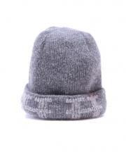 HERMES(エルメス)の古着「Hロゴカシミヤニット帽」