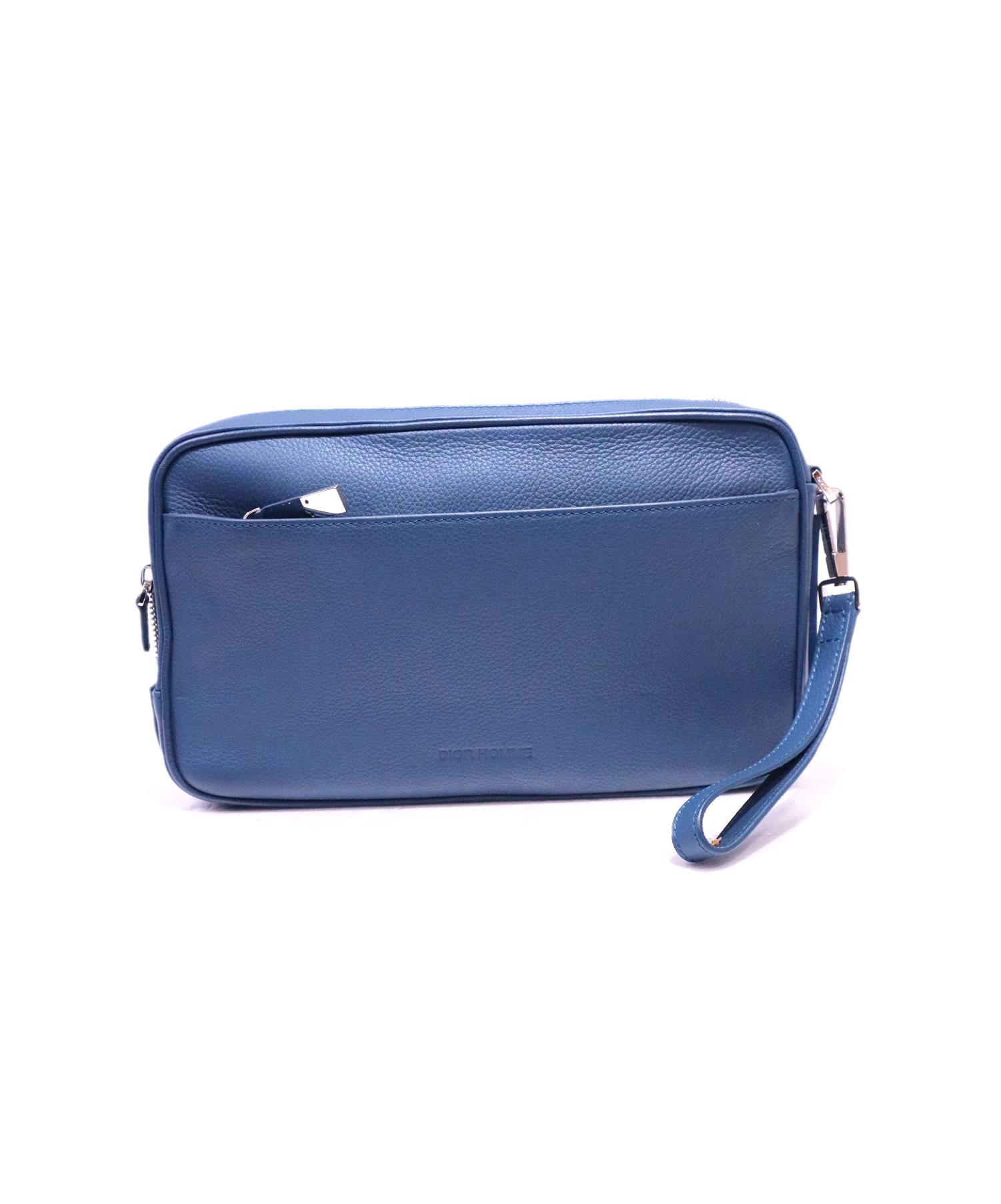 buy online 2b6cf 0357b [中古]Dior Homme(ディオールオム)のメンズ バッグ レザークラッチバッグ