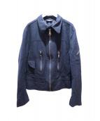DOLCH&GABBANA(ドルチェアンドガッバーナ)の古着「ウールジャケット」|ブラック
