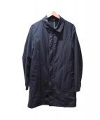 BURBERRY BLACK LABEL(バーバリーブラックレーベル)の古着「ステンカラーコート」 ブラック