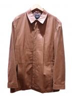 BOSS HUGO BOSS(ボス ヒューゴ ボス)の古着「ラムレザージャケット」