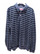 Supreme(シュプリーム)の古着「ベロアポロシャツ」