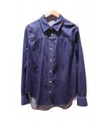 CARA O CRUZ(キャラオクルス)の古着「デニムシャツ」|インディゴ