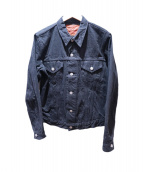 JOE McCOY(ジョーマッコイ)の古着「デニムジャケット」|ブラック