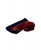 HERMES(エルメス)の古着「馬車スカーフ」|ブルー
