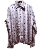 GUCCI(グッチ)の古着「シルクシャツ」|ベージュ