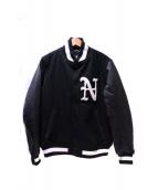 New Era(ニューエラ)の古着「スタジアムジャケット」|ブラック