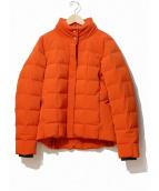 HERMES(エルメス)の古着「ダウンジャケット」|オレンジ(フー)