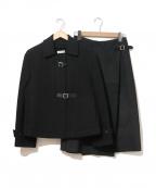 HERMES(エルメス)の古着「3WAYセットアップショートコート」|ブラック