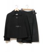 HERMES(エルメス)の古着「セットアップショートコート」|ブラック
