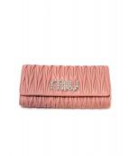 MIUMIU(ミュウミュウ)の古着「折りたたみ財布」