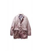 SWISS CHRISS(SWISS CHRISS)の古着「チェスターコート」|オリーブ