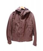 C.P COMPANY(シーピーカンパニー)の古着「GORE-TEXフーデッドコート」|ブラウン
