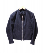 COLINA(コリーナ)の古着「ライダースジャケット」|ブラック