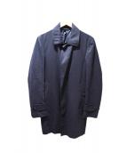 SHIPS(シップス)の古着「ステンカラーコート」|ブラック