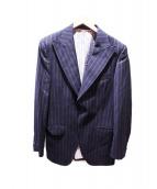 DOLCH&GABBANA(ドルチェアンドガッバーナ)の古着「テーラードジャケット」|ネイビー
