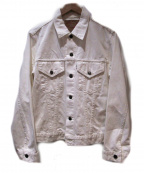 orSlow()の古着「デニムジャケット」 ホワイト