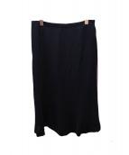 DAKS(ダックス)の古着「ロングスカート」|ブラック