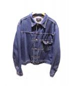 RRL(ダブルアールエル)の古着「1ST デニムジャケット」