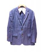 Brooks Brothers(ブルックスブラザーズ)の古着「リネンセットアップ」 ブルー