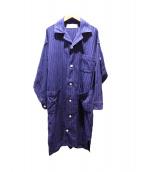 PHINGERIN(フィンガリン)の古着「ガウンコート」 ブルー