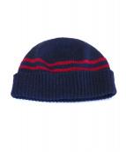 GUCCI(グッチ)の古着「ニット帽」|ネイビー