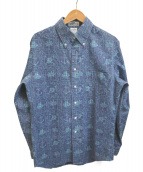reyn spooner(レインスプーナー)の古着「総柄シャツ」|グリーン