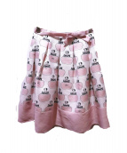MS GRACY(エムズグレイシー)の古着「香水柄スカート」
