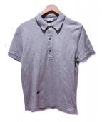 Dior Homme(ディオールオム)の古着「ビー刺繍ポロシャツ」|グレー