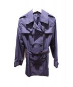 Brooks Brothers(ブルックスブラザーズ)の古着「ハーフトレンチコート」|ネイビー