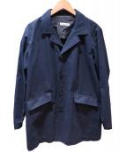 FLAGSTUFF(フラッグスタッフ)の古着「ステンカラーコート」|ネイビー