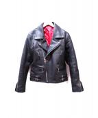 freedom(フリーダム)の古着「ライダースジャケット」 ブラック
