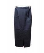 YOHJI YAMAMOTO(ヨウジヤマモト)の古着「タイトロングスカート」