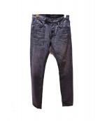 Dior Homme(ディオールオム)の古着「ラスターコーティング加工スリムデニムパンツ」