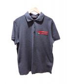 PRADA(プラダ)の古着「ポロシャツ」|グレー