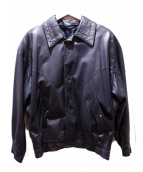 LOEWE(ロエベ)の古着「ナッパレザージャケット」|ブラック