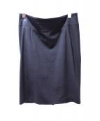 FENDI(フェンディ)の古着「膝丈スカート」|ブラック