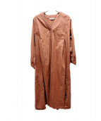 TORRAZZO DONNA(トラッゾドンナ)の古着「ブラウスワンピース」 ブラウン