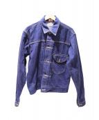 Lee(リー)の古着「カウボーイデニムジャケット」|ブルー