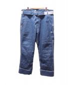 LEVIS RED(リーバイスレッド)の古着「ベルト付きデニムパンツ」