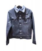 SABI SABI DELUXE(サビサビデラックス)の古着「リバーシブルジャケット」|インディゴ×ブラック