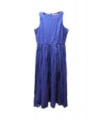 MARIHA(マリハ)の古着「夏のレディのドレス」 パープル