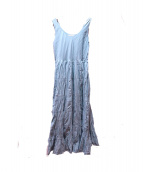 MARIHA(マリハ)の古着「草原の虹のドレス」 スモーキ-ブルー