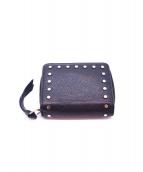 JIMMY CHOO(ジミーチュウ)の古着「折りたたみ財布」|ブラック