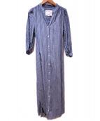 DRWCYS(ドロシーズ)の古着「シャツワンピース」|インディゴ