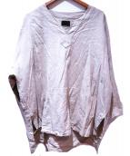 Danke schon(ダンケシェーン)の古着「プルオーバーシャツ」|ベージュ