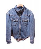BALENCIAGA(バレンシアガ)の古着「Boxy Denim Jacket」|インディゴ