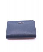 FURLA(フルラ)の古着「2つ折り財布」|ARDESIA e(ネイビー)