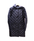 LAVENHAM(ラベンハム)の古着「キルティングコート」 ブラック